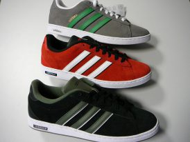 Obuv ADIDAS Derby Leather Suede