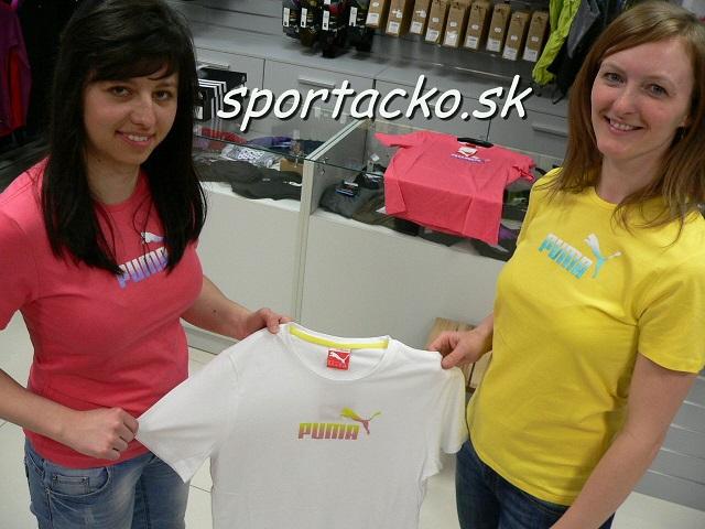 PUMA odevy-AKCIA - VÝPREDAJ-Dámske tričko Puma Large Logo Tee ... d84b607b2b1