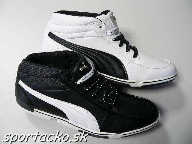 Výpredaj obuvi: Pánska kožená obuv PUMA 65cc Mid