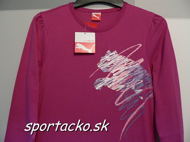 ee72ee657f2a Dámske tričko s dlhým rukávom Puma