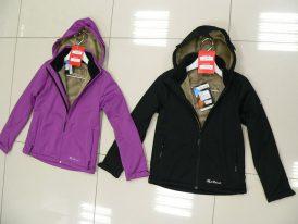 Výpredaj:  zateplená softshellová bunda