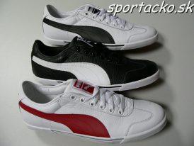 AKCIA Výpredaj: Pánska celokožená obuv PUMA Benecio T-Toe Full Grain Leather
