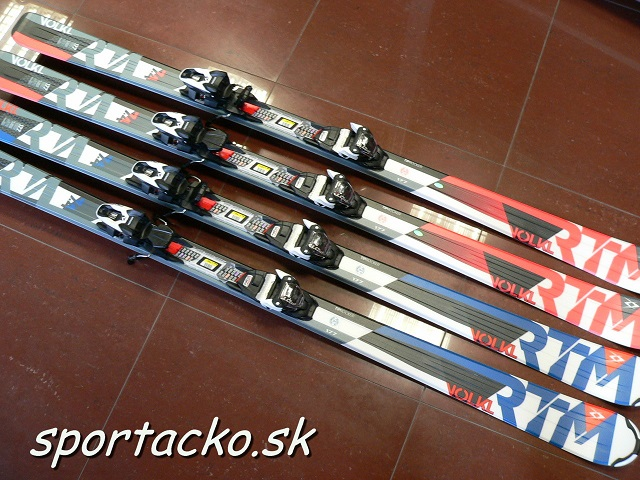 Výpredaj lyží: Lyže s viazaním Volkl RTM 7.4 177cm