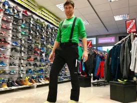 HIT týždňa: Pánske lyžiarske nohavice GTS 4way Stretch nová kolekcia ZIMA 2019/20