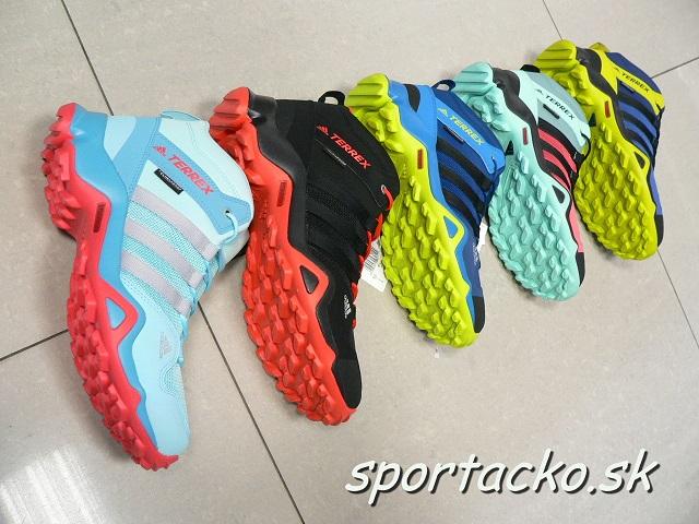 Obuv Adidas TERREX AX2R Mid Climaproof K
