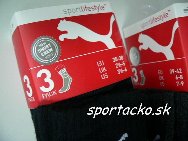 AKCIA Puma: Športové ponožky PUMA Trek-Sport Mid 3x