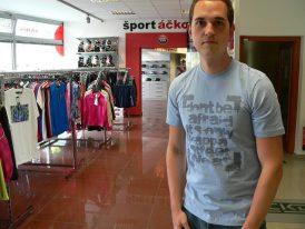 Pánske športové tričko Kappa Hadrian