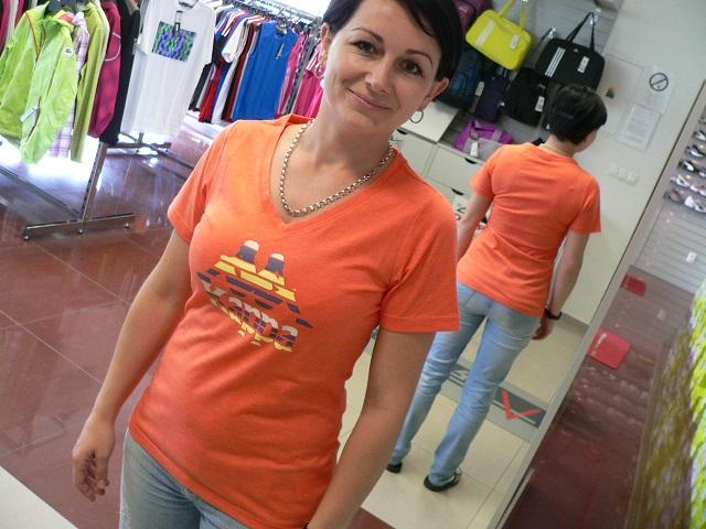 Dámske športové tričko Kappa Henrike