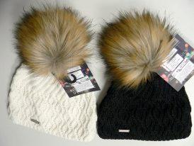 Dámske zimné čiapky s brmbolcom Stohr Esha Zima 2019/20