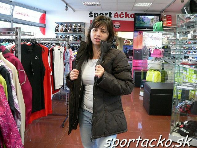 Kappa-Odevy-zima bundy-Výpredaj  Zimná bunda KAPPA Bettina  a56f7a6e170