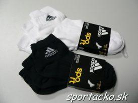 3x športové ponožky Adidas Ankle Rib T 3PP