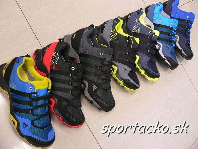 4b62a822f0 Adidas obuv-Obuv trekingová-Pánska treková obuv Adidas AX2 GORE-TEX ...