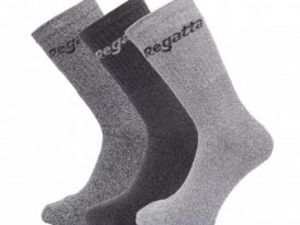 Ponožky Regatta Mens 3 paar Socks / Box RMH018