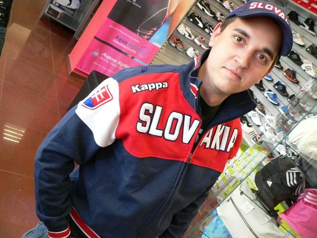 Oficiálna mikina SZLH Kappa SLOVAKIA
