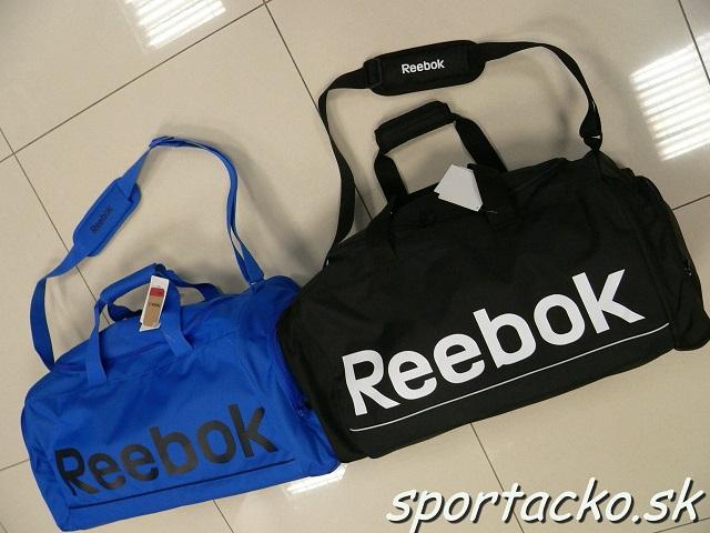f5cdb9de3d Športová taška Reebok Sport Royal Grip M ...