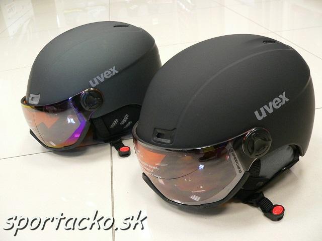 Lyžiarska prilba so štítom UVEX HLMT 400