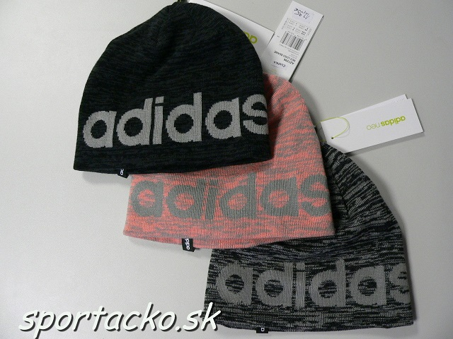 1d974d466 Adidas odevy-Čiapky-zimné-Zimné čiapky Adidas Neo Logo Beanie ...