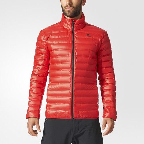 Adidas odevy-Odevy-bundy páperové-Páperová bunda Adidas Varilite ... a4b28356fb9