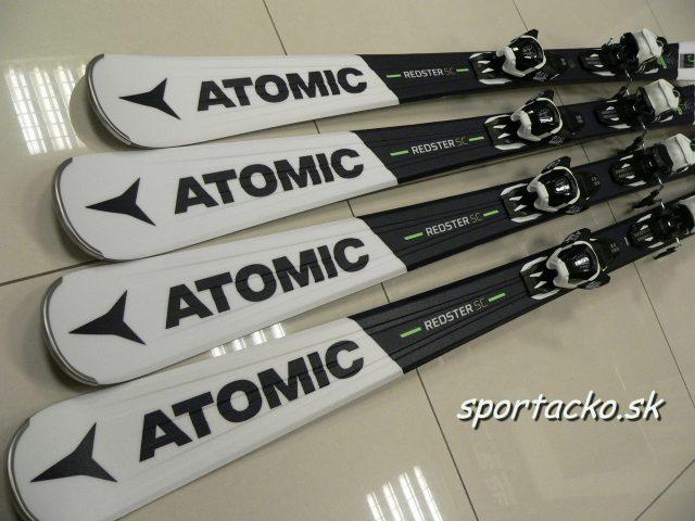 Lyže s viazaním ATOMIC Redster SC + viazanie Atomic eLITHIUM 10 Sport
