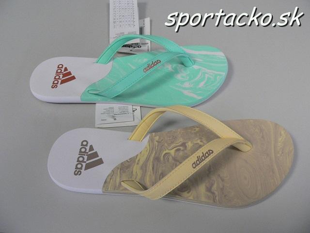Dámske žabky Adidas eezay Ice Cream W