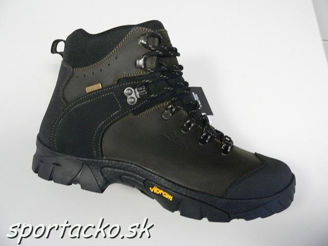 Turistická celokožená obuv Eiger Trek Vibram