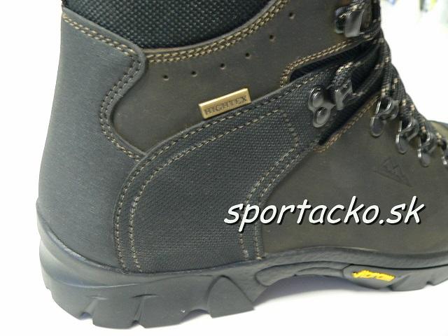 AKCIA: Celokožená turistická obuv Eiger Trek Vibram 2020
