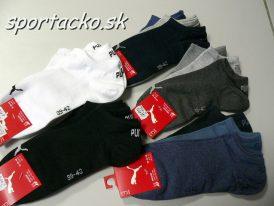 Členkové športové ponožky PUMA Sneaker Invisible 3x