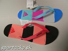 Dámske letné žabky Adidas eezay striped W