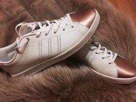 Kožená obuv Adidas Advantage Clean QT W