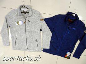 Pánsky fleeceový sveter HC Strickfleece Jacke