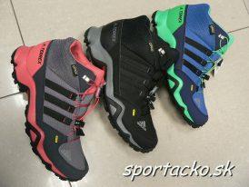 AKCIA: Turistická gore-texová dámska/juniorská obuv Adidas Terrex Mid GTX