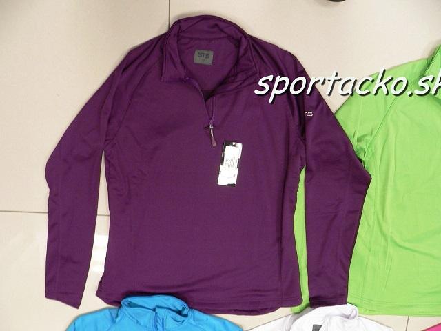 Dámske termotričká Damen Sportshirt 1/2 Zip