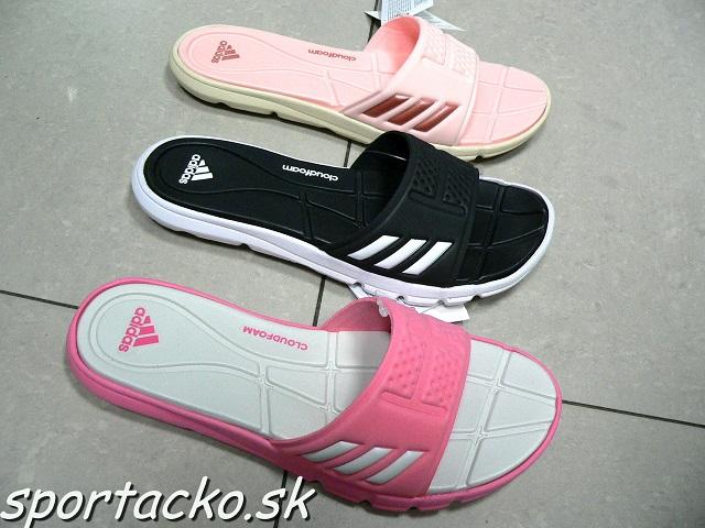 5ca3e5543a81 Dámske šľapky Adidas adipure CloudFoam W