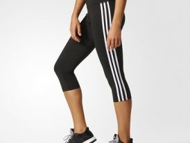 Športové legíny Adidas D2M 3/4 Tight