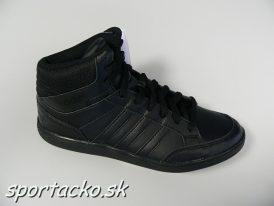 Obuv Adidas Neo Hoops Mid čierna farba