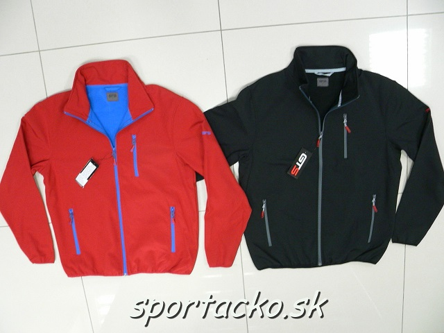 Pánska softshellová bunda GTS Tour red/blue