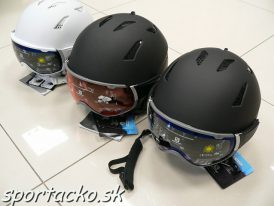 Lyžiarska prilba so štítom Salomon Driver+ 2019/20