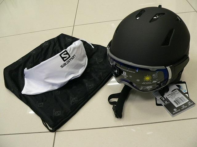 b678007d0 Lyžiarska prilba so štítom Salomon Driver+ | ŠportÁčko.sk