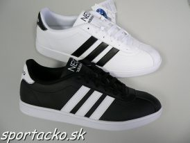 AKCIA: Pánska obuv Adidas VLNEO Court Leather