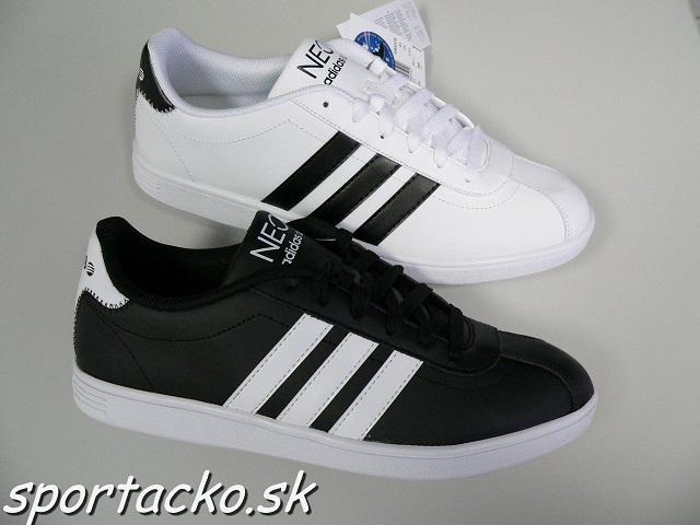00bf5143c6bf AKCIA  Pánska obuv Adidas VLNEO Court Leather