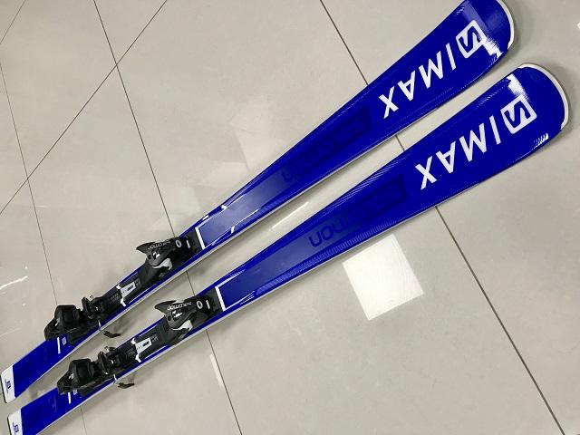Salomon-LYŽE-Zjazdové lyže Salomon S Max F10 Ti + viaz.  93ae0388e25