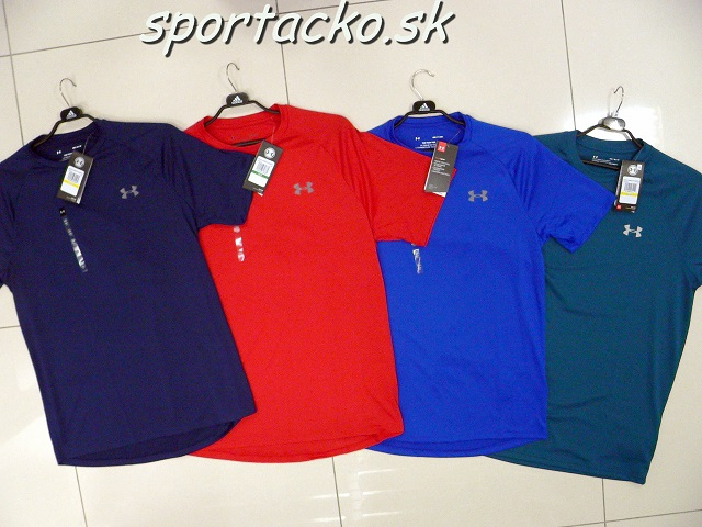 d67f162d6 Under Armour-Odevy-tričká funkčné-Pánske športové tričko Under Armour Tech  SS | Šport Áčko