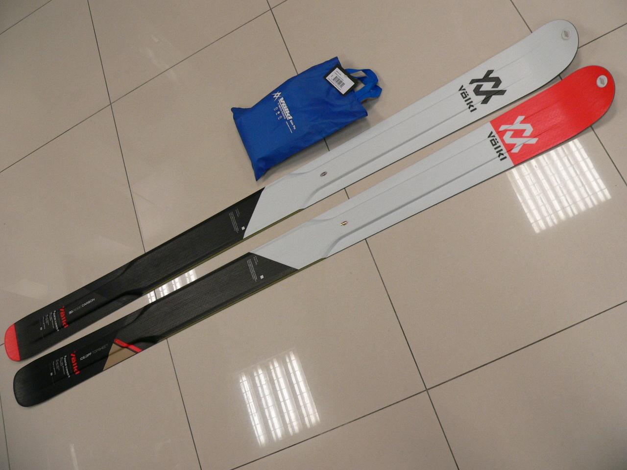 99b12bfc87 ... Freeride skialp lyže s pásmi Volkl Katana V.Werks ...