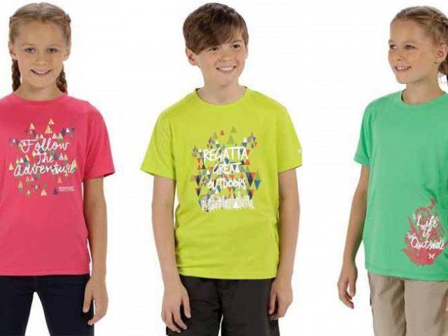 Detské funkčné tričko Regatta Alvarado III RKT079