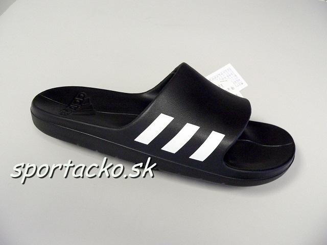 Pánske šľapky Adidas Aqualette black