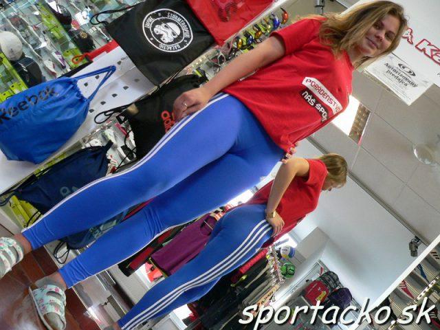 Nohavice na cvičenie ADIDAS YG GU 3S Tight