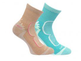 Dámske ponožky Regatta W Active LS 2 pack RWH031