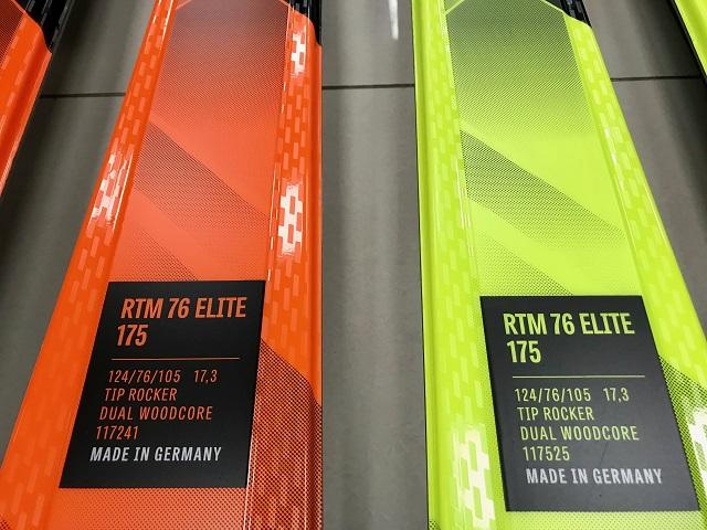 Lyže Volkl RTM 76 Elite + viazanie Motion