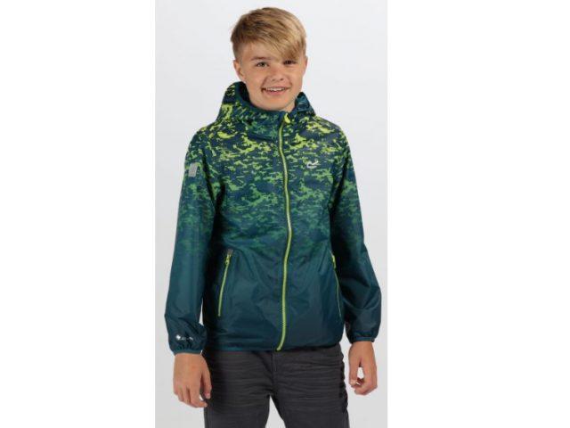 Detská bunda s kapucňou Regatta Printed Lever