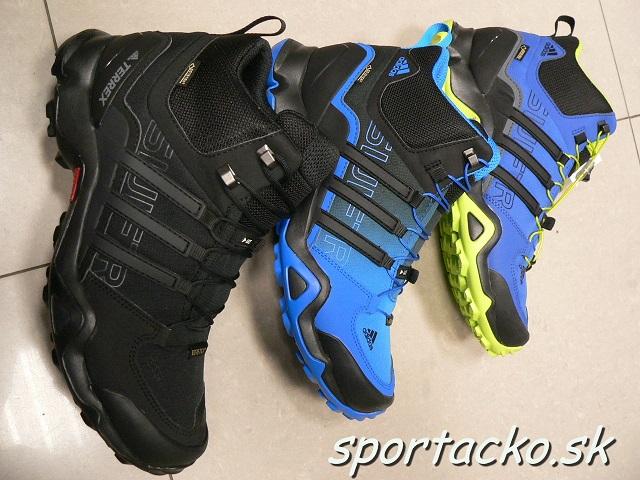 e3ffded7e Pánska obuv Adidas Terrex Swift R Mid GTX | ŠportÁčko.sk